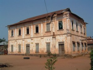 "The ""Migan"" house in Porto-Novo (Benin), before restoration"