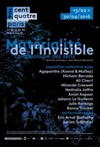 Matérialité de l'Invisible affiche